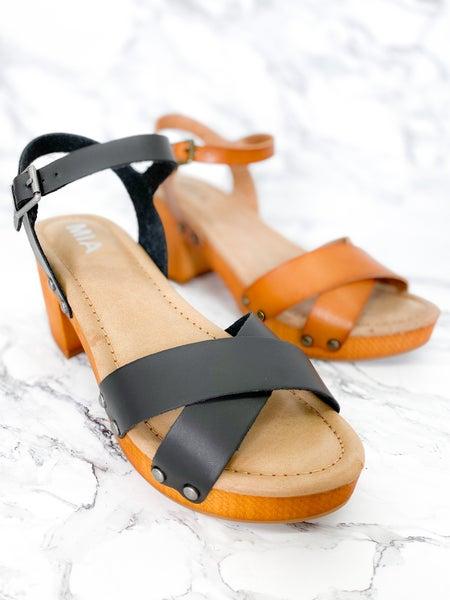 MIA Platform clog sandal