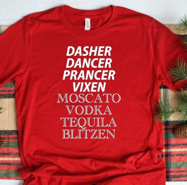 Dasher Dancer Vixen