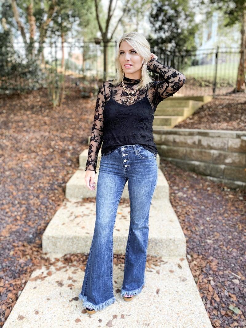 C'est Toi That 70s Show Flare Bootcut Jeans