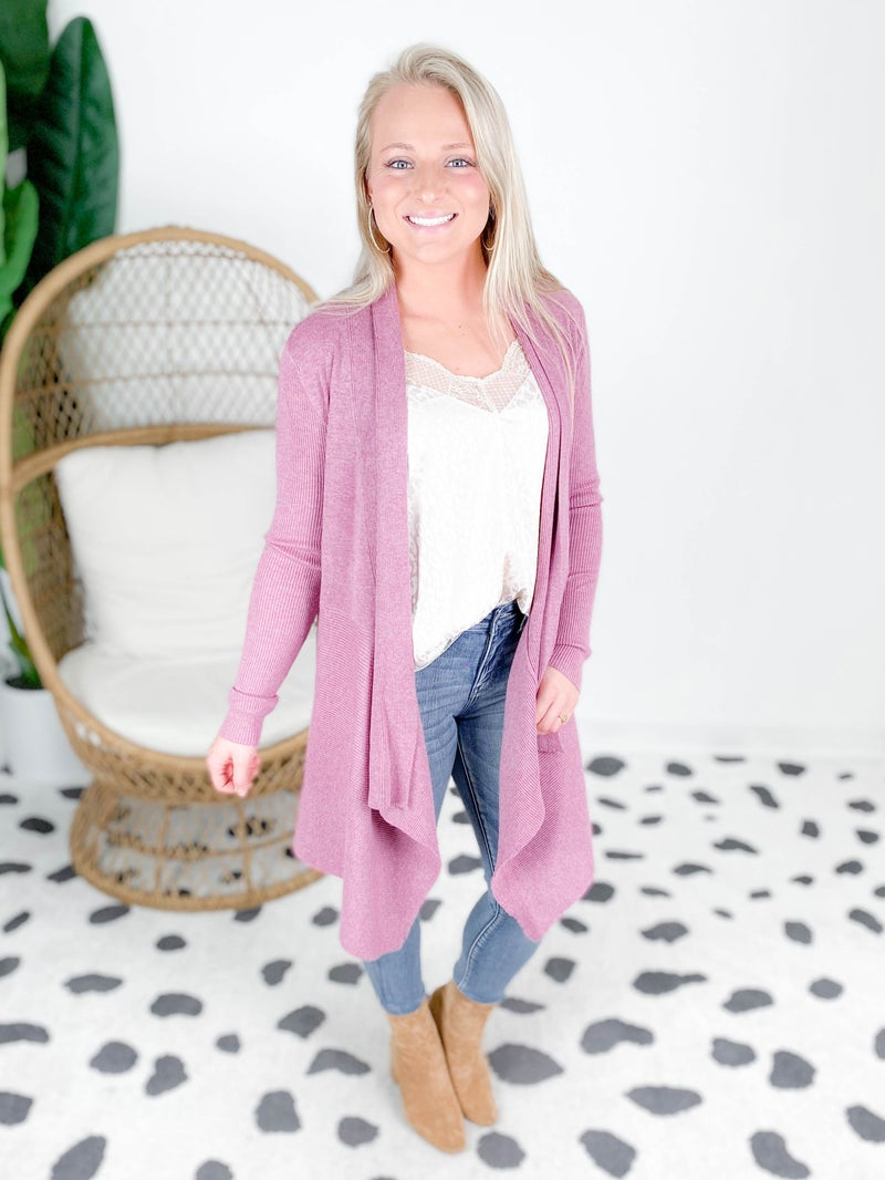 Soft Cascade Cardigan (Multiple Colors)