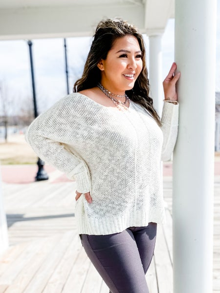 BEST SELLER!! Solid Long Sleeve Sweater (Multiple Colors)