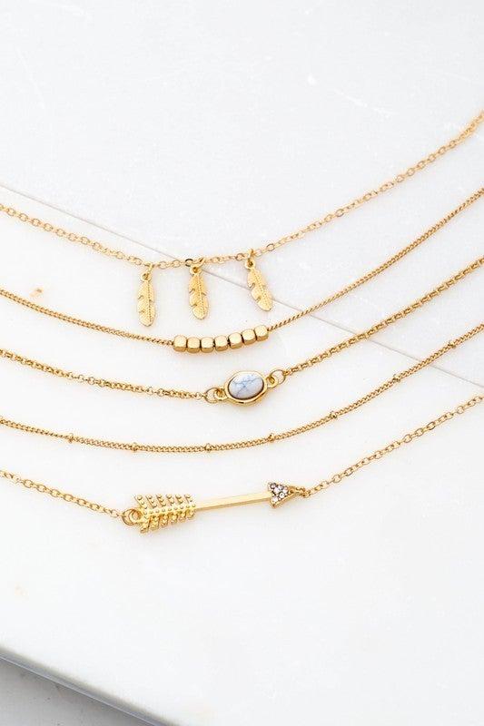 Gold Boho Bracelet Set