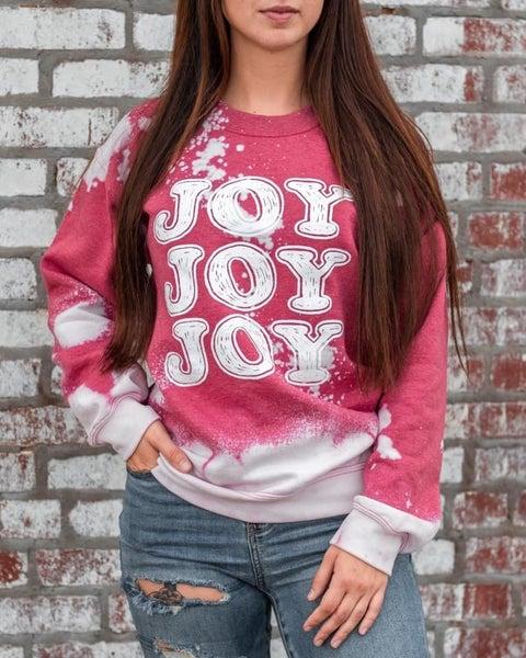 JOY JOY JOY Bleached sweatshirt