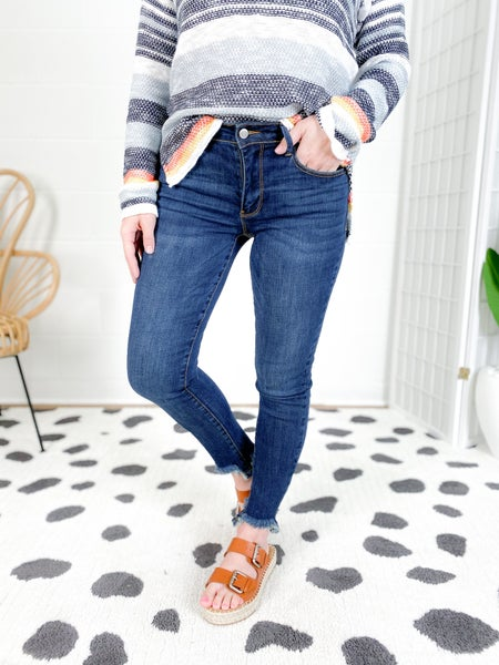 C'est Toi Sharknado Non-Distressed Skinny Jeans