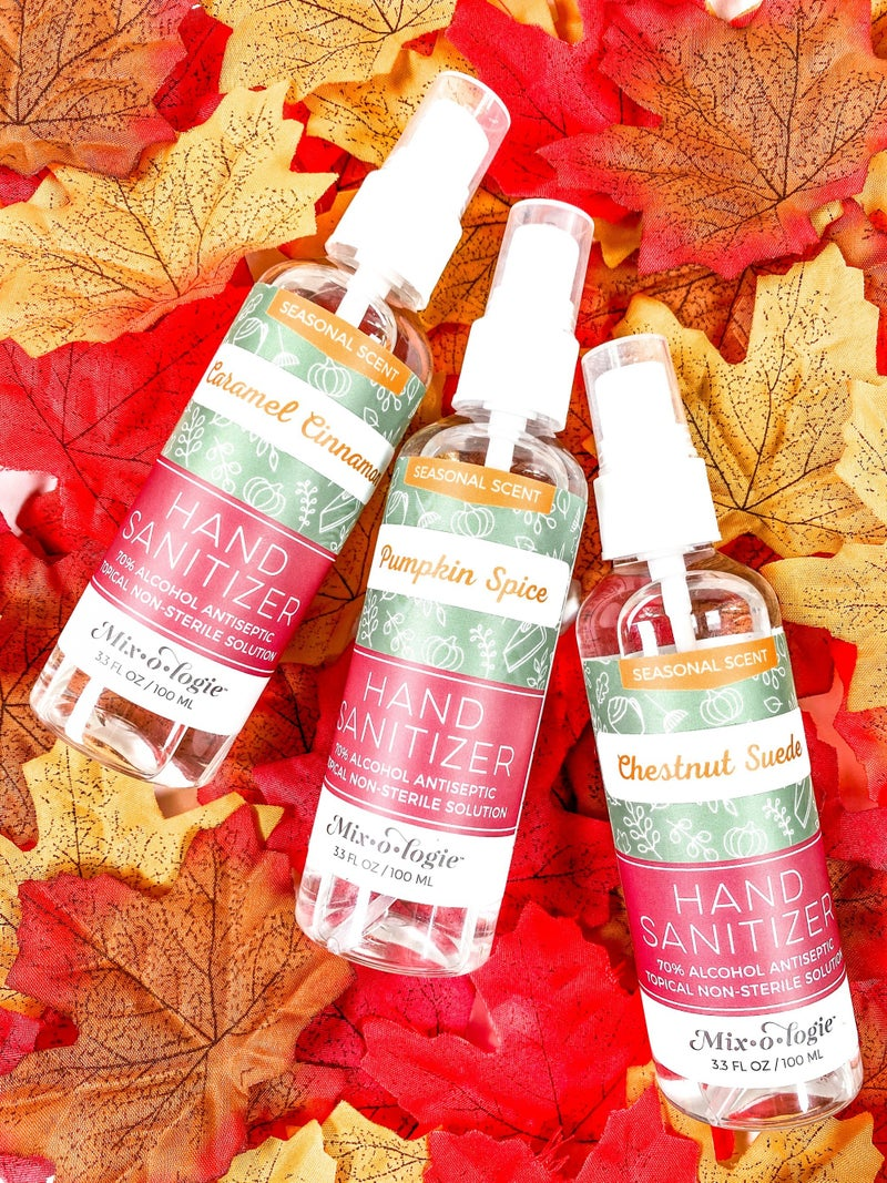 Mixologie Fall Scented Hand Sanitizer Spray (Multiple Options)