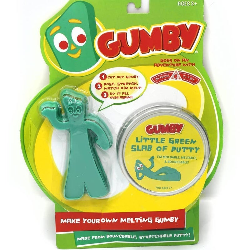 DIY Gumby Putty