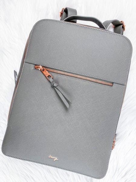 Grey London Travel Backpack