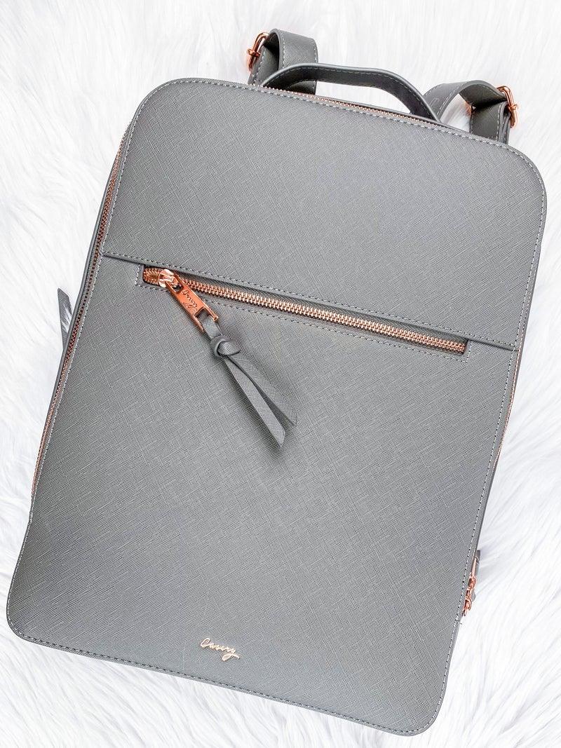 Grey London Travel Backpack
