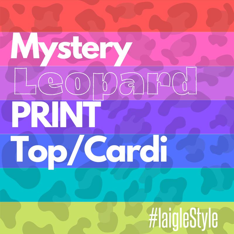 MYSTERY LEOPARD TOP/CARDI