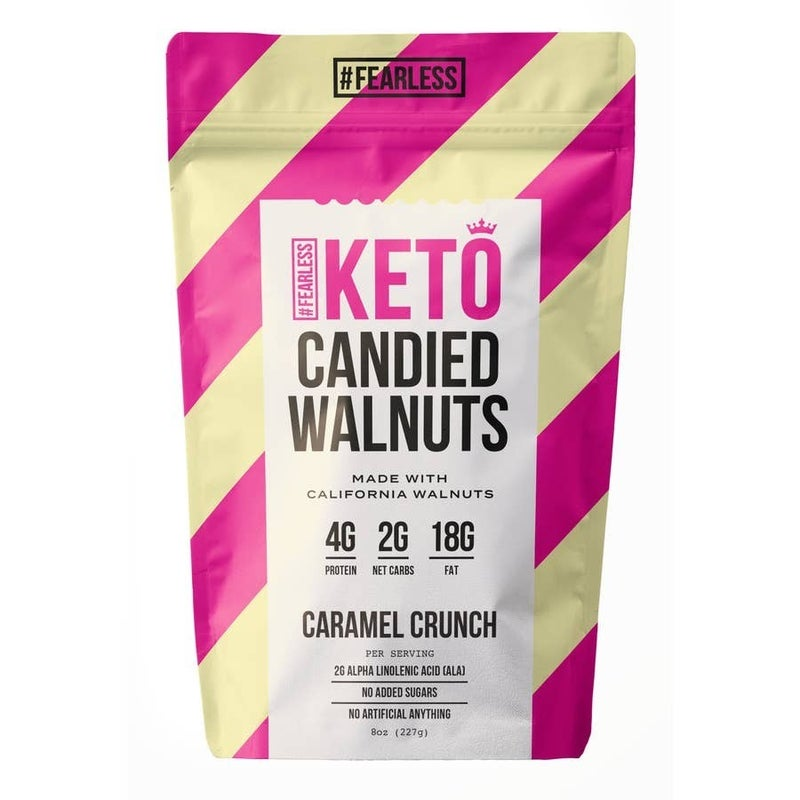 Fearless Keto Candied Walnuts (Multiple Flavors)
