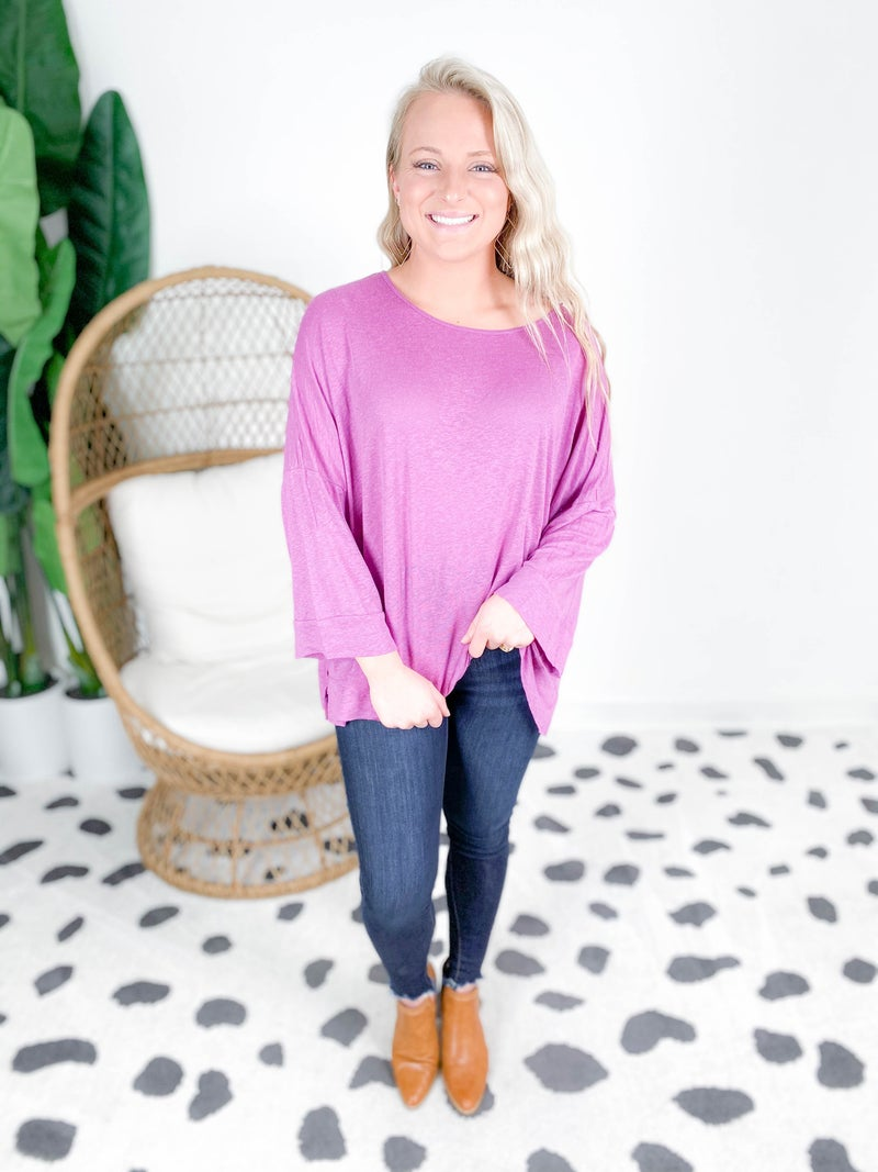 Boxy Oversized Top (Multiple Colors)