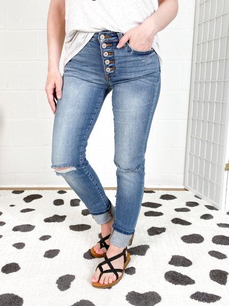 Kancan Straight & Narrow Jeans