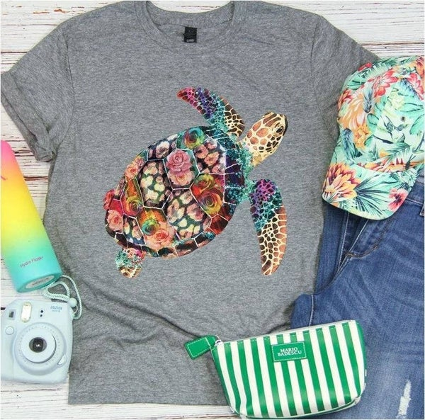 Turtle Graphic Tee