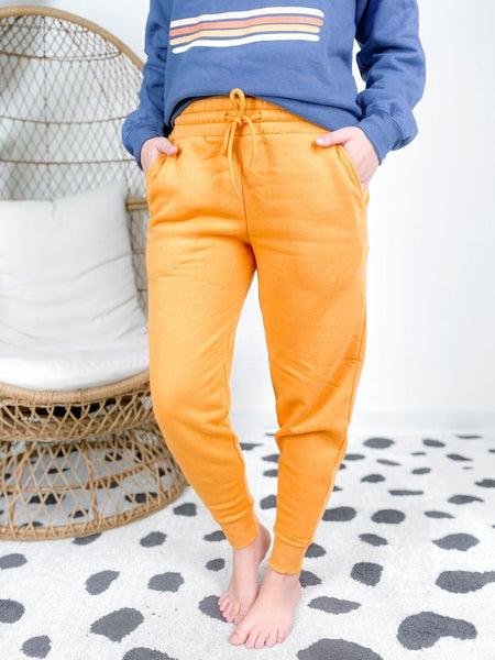 DOOR BUSTER PLUS/REG Zenana Fleece Joggers (Multiple Colors)