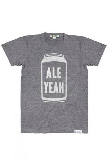 Mens 'Ale Yeah' Graphic Tee