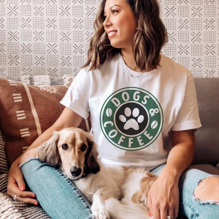 Dogs and Coffee Starbucks