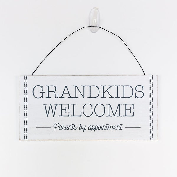 Grandkids Welcome Sign