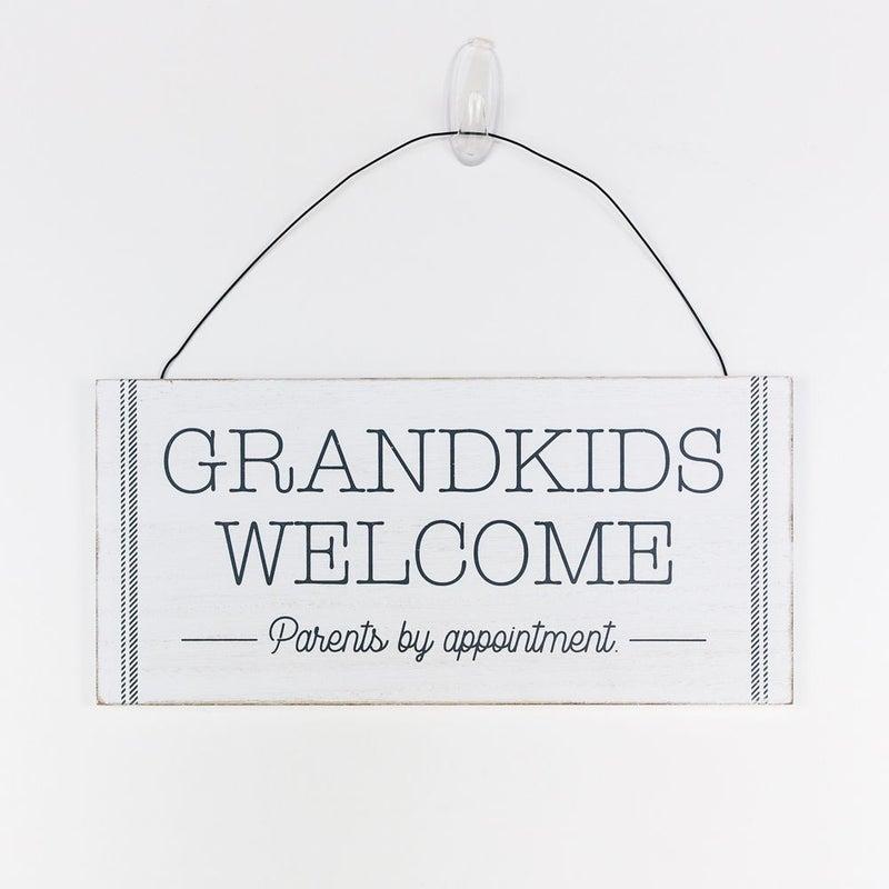 Grandkids Welcome Sign