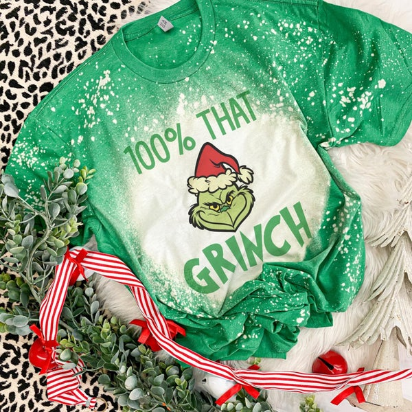 That Grinch  Bleached