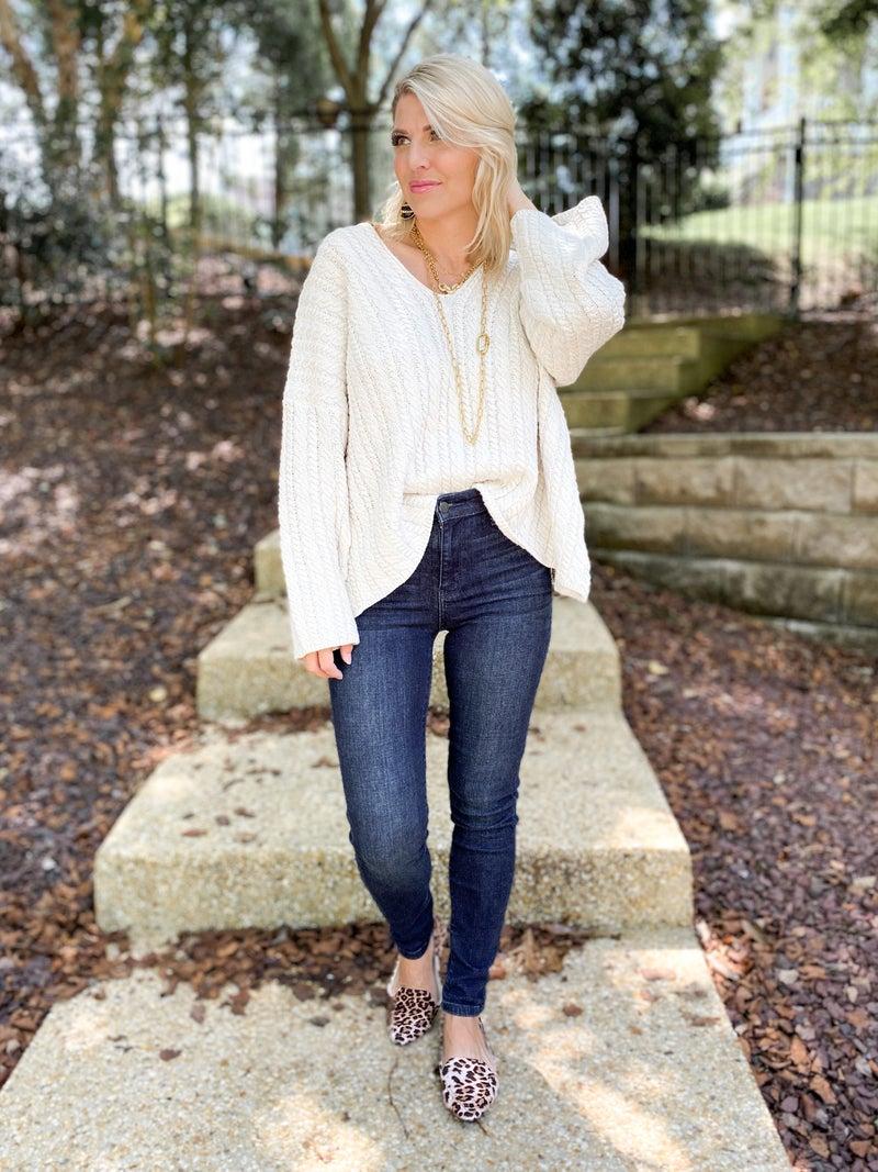 Plus/Reg Judy Blue Everyday Wear 2.0 High Waist Non-Distressed Skinny Jeans