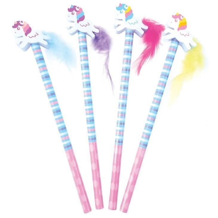 Mystery Unicorn Pencil & Eraser Topper