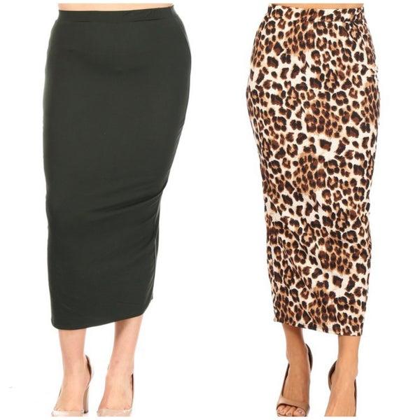 """Sonya ~ 35"""" Straight Skirt"""