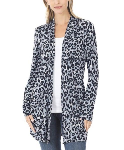 Gabby ~ Leopard Open Cardi ~ More Colors!