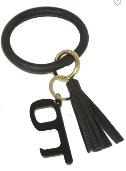 PPE Tool/Key Ring with Tassel