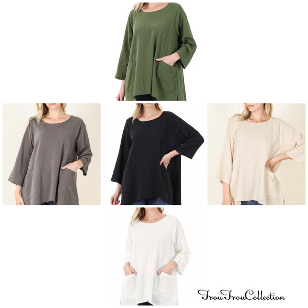 Brittany ~ Loose Fit Top