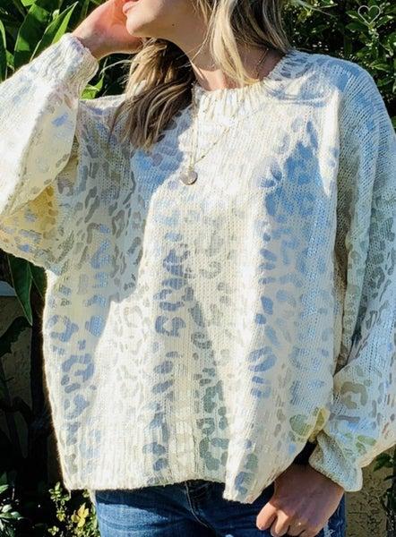 Leopard Sweater *Final Sale*