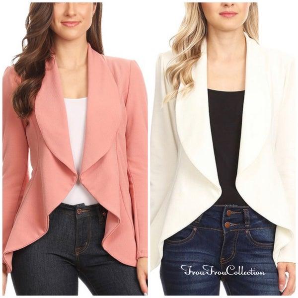 Missy ~ Blazer Jacket - More Colors!