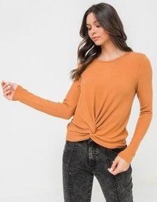 Twist Knot Sweater *Final Sale*