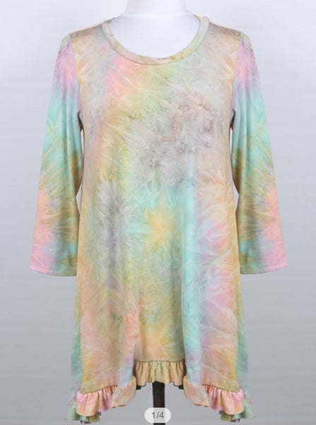 Lisa ~ Pastel Tie Dye *Final Sale*