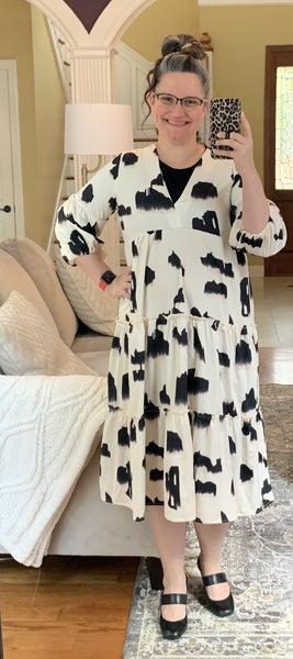 I See Spots - Midi Dress