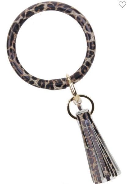 Tassel Key Chain Bracelet *Final Sale*