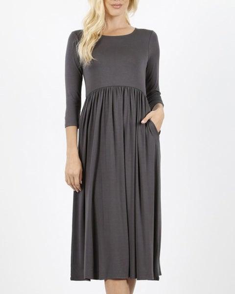Dory ~ Midi Knit Dress