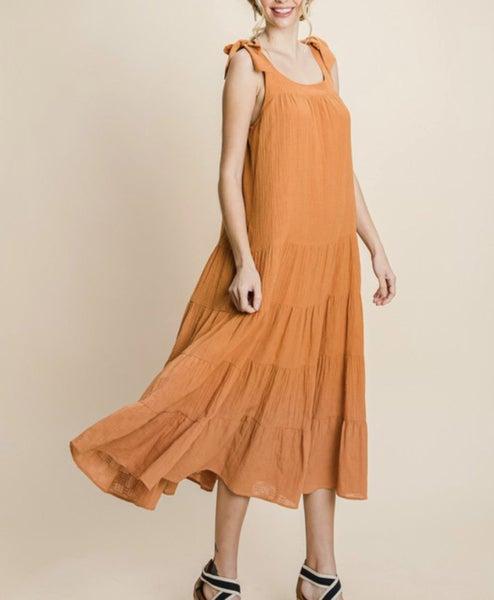 Apricot Dress
