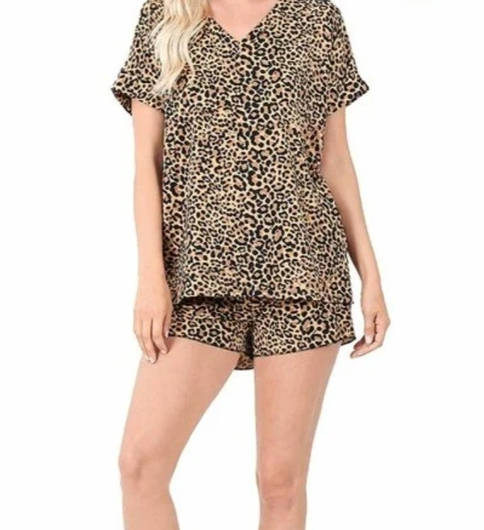 Leopard Glam and Go Set