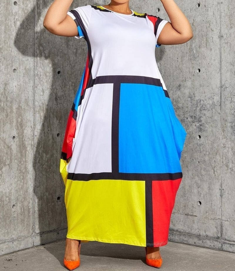 This is how you color block