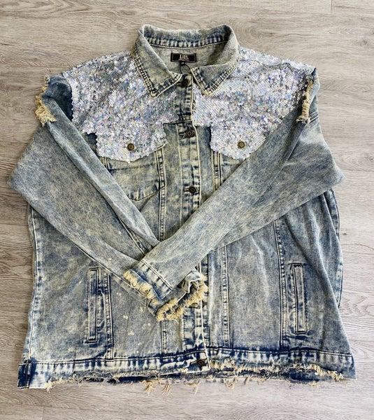Sequin Denim Jackets