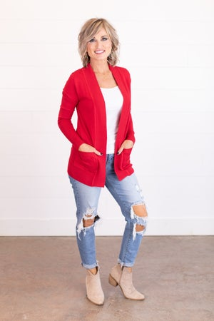 sku17333 | **DOORBUSTERS** Butter Soft Sweater Cardigan