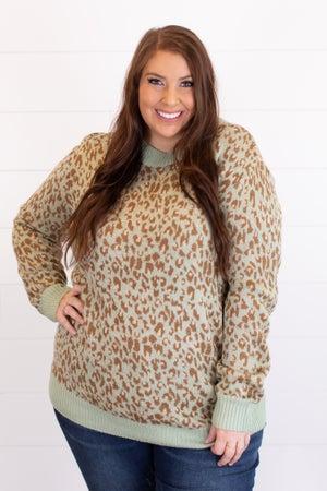 sku17228 | Animal Print Sweater