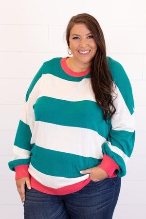 sku14840 | Color Block Sweater