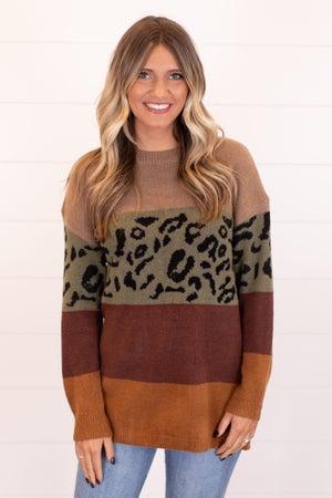 sku17157 | Color Block Sweater