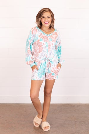 sku16270 | Tie Dyed Loungewear Set