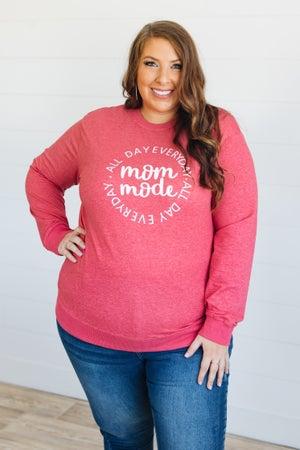 sku20269 | Mom Mode Graphic Sweatshirt