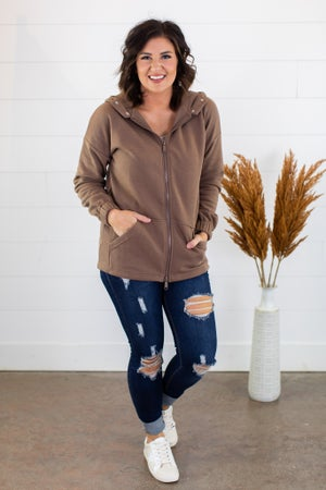 sku15226 | Hooded Sweatshirt Jacket