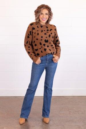"sku16688 | High Rise Bootcut Jeans 32"""