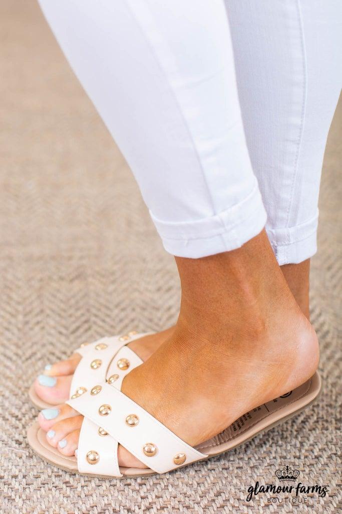 sku14762   Sandstorm Studded Sandals