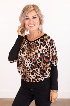 sku16195 | Animal Print Tunic